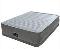 Двуспальная надувная кровать Intex 64412 с электрическим насосом