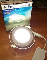 Светильник светодиодный встраиваемый Feron AL2110 6w (LED панель)