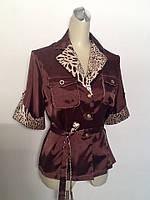 Блуза Mory's Tone женская шелк размер+