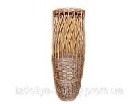 Плетена корзина - витрина для продажи в магазинах разного товара