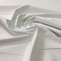 Бязь однотонная белая ширина 160 см, фото 1