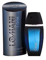Туалетная вода  для мужчин Lomani Code 100мл т/в муж Parfums Parour