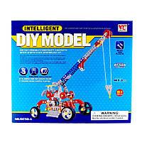 """Конструктор """"Мобильный автокран со стрелой"""", 413 деталей. Intelligent Diy Model"""