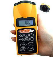 Ультразвуковой дальномер Laser metr Q 03 с лазерной указкой с LCD
