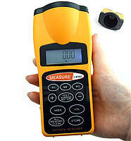 Ультразвуковой дальномер Laser metr Q 03 с лазерной указкой с LCD , фото 1