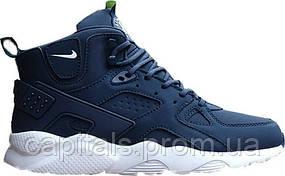 """Мужские кроссовки Nike Air Huarache Winter """"Blue"""""""