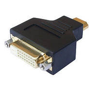 ПЕРЕХОДНИК HDMI(ПАПА)-DVI(МАМА) BLACK 24PIN, ATcom
