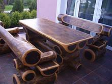 Садовая мебель, сруб, декор.