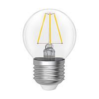 Светодиодная лампа электрум D45  4W GL LB- 4F E27 2900 Rf