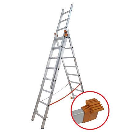 Лестница универсальная Budfix 3х8, фото 2