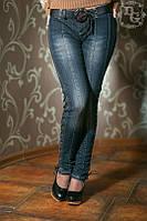 Женские джинсы Затяжки
