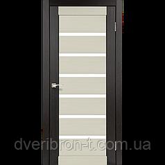 Двери Корфад Porto Combi PC-01 комбинированный венге / дуб беленый