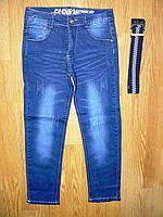 Джинсовые брюки для мальчиков KeYiQi оптом, 134-164 рр, фото 1
