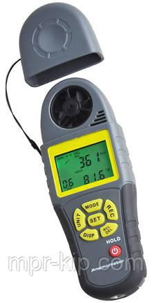 Анемометр Kecheng KC-280C ( SR5280C ) (0.4~30.0m/s; -20°C~70°C; 0%~100%; 30~120kPa) точка росы, компас