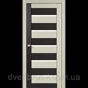 Двери Корфад Porto Combi PC-05 комбинированный дуб беленый / венге, фото 2