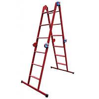 Лестница шарнирная Технолог 4x3
