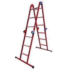 Лестница шарнирная Технолог 4x4