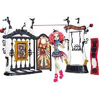 Кукла монстер хай игровой набор Рошель Гойл - Фрик дю шик - Цирк Шапито.