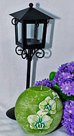 Ароматизированная Свеча Охидея шар 100 мм