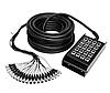 Аренда звукового оборудования: Мультикор Proel 2406