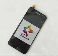 Дисплей для мобильного телефона Gigabyte GSmart Guru G1, черный, с тачскрином