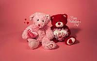 Мягкие игрушки Валентинки