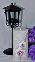 Ароматизированная Свеча Орхидея цилиндр 70х140 мм