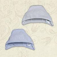 Чепчик для девочки Сонечко Интерлок Цвет белый, молочный Размер 56-68 Бетис
