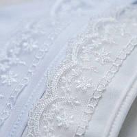 Чепчик для девочки Сонечко Интерлок Цвет белый, молочный Размер 74-86 Бетис