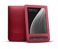 Электронная книга с подсветкой Pocketbook Touch Lux 3 (Red)
