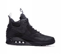 Мужские кроссовки Nike Air Max 90 SneakerBoot Winter Triple Black