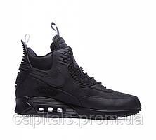 "Мужские кроссовки Nike Air Max 90 SneakerBoot Winter ""Triple Black"""