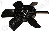 Вентилятор системы охлаждения (крыльчатка) ВАЗ 2101-07 6-ти лопаст. (металл. втулка) (черная) (пр-во г.Херсон)