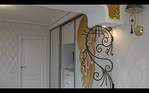 Интерьер квартиры в стиле арт-деко 3