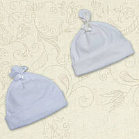 Шапочка для малышки Зіронька-2 Интерлок Цвет белый, молочный Размер 56-74 Бетис
