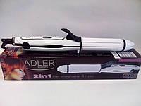 Плойка-выпрямитель для волос 2в1 Adler AD 2104 с керамическими пластинами