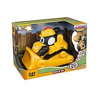 Моторизованный бульдозер Cat со звуковыми эффектами, 16см 80422