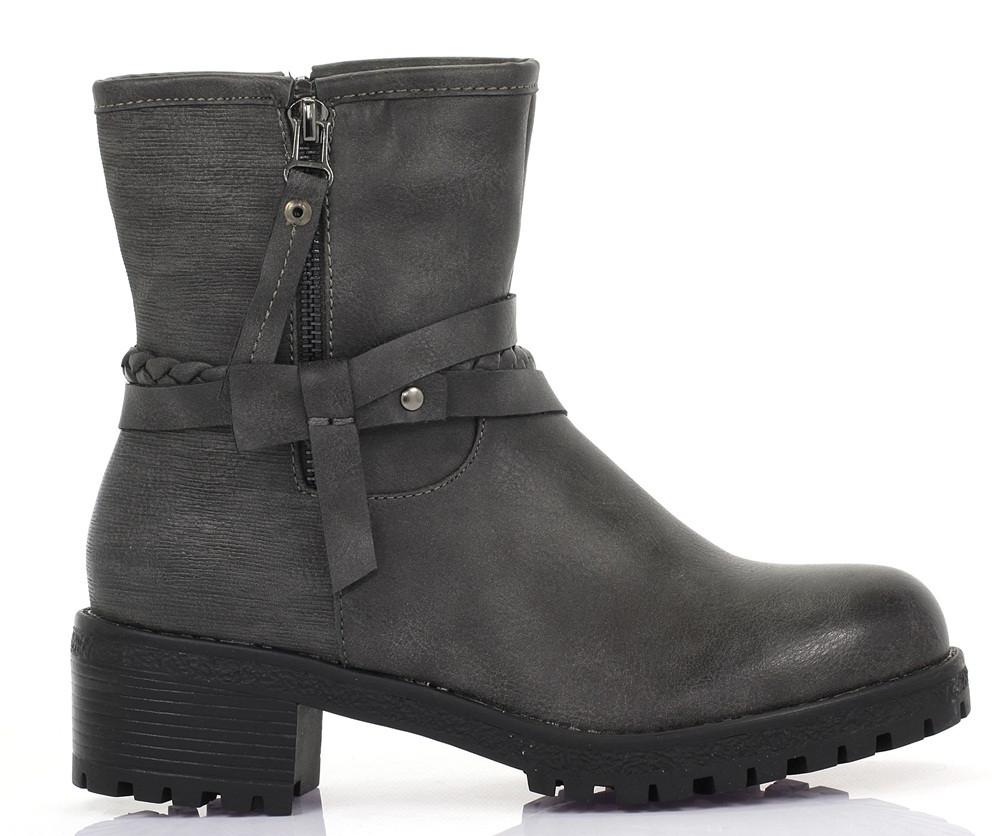 Женские ботинки Mika grey