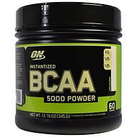 Optimum Nutrition BCAA 5000 powder pure 345g 60 serv