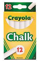 12 шт детский мел белый CRAYOLA Chalk 12 count.Прямая поставка Америка