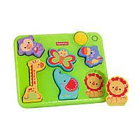 Музыкальная игрушка пазл для самых маленьких «Животные» Fisher Price