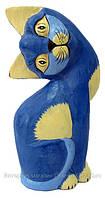 Фигура деревянная Кот код 19057