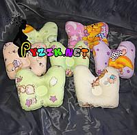 Подушка-бабочка ортопедическая для новорожденного, цвет на выбор