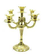 Подсвечник бронзовый на 5 свечей