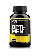 Optimum Nutrition Opti-Men 240 tabs Срок годности до EXP 09/20