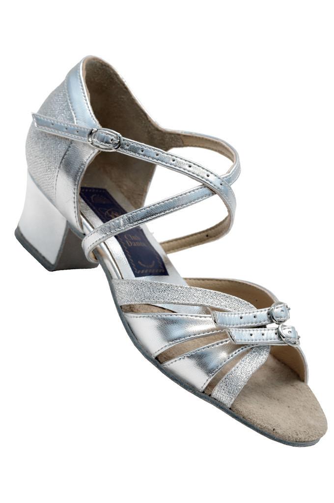 c087709d Туфли для танцев серебристые детские на блок-каблуке 26-40 р. Обувь ...