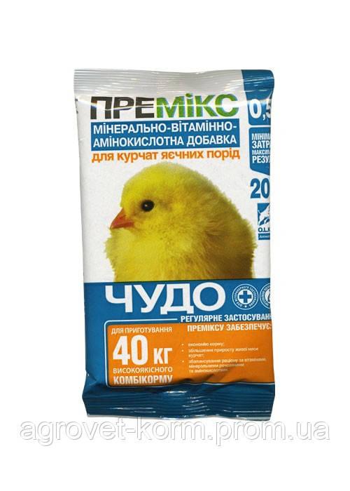 Премикс ЧУДО 1% цыплята,утята 400г