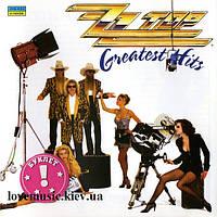 Музыкальный сд диск ZZ TOP Greatest hits (1992) (audio cd)