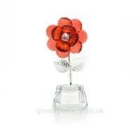 Цветок хрустальный (9,5х4,5х3,5 см)(8491)