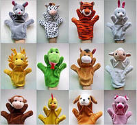 Игрушка рукавичка, кукольный театр, мягкие игрушки, Зверята, куклы рукавички